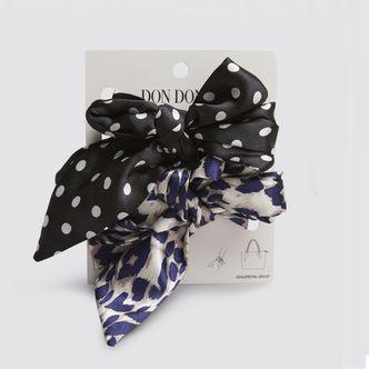 Don Donna Heather scarf bag charm