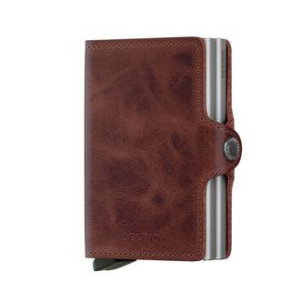 Secrid Twinwallet Vintage plånbok i skinn och metall