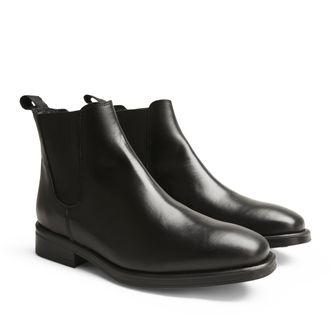 Rizzo Milena chelsea boots i skinn, dam