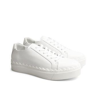 Rizzo Bianca sneakers i skinn, dam