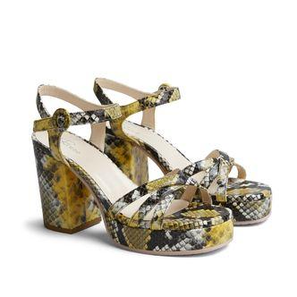 Rizzo Kia sandaletter i skinn, dam