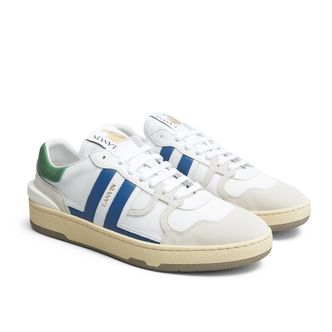 Lanvin Tennis Top sneakers i skinn, herr