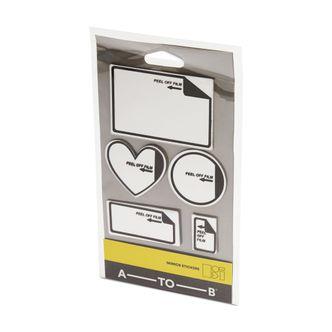 A-TO-B Mirror Stickers klistermärken