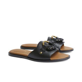 See By Chloé Hana slip-in sandaler i skinn, dam