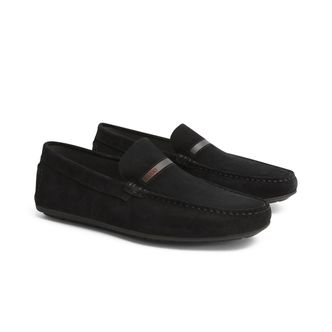 Hugo Boss Dandy Moccasin loafers i mocka, herr