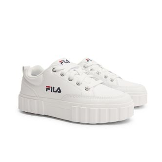 FILA Sandblast sneakers i skinn, dam