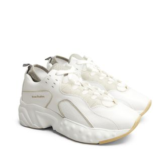Acne Manhattan sneakers i skinn, dam