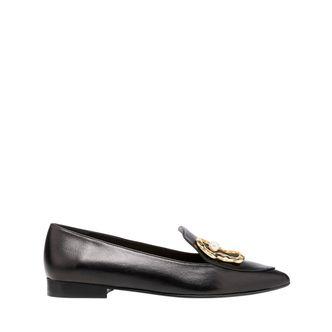 Flattered Alexa loafers i skinn