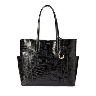 Lauren Ralph Lauren Carlyle Tote handväska i skinn