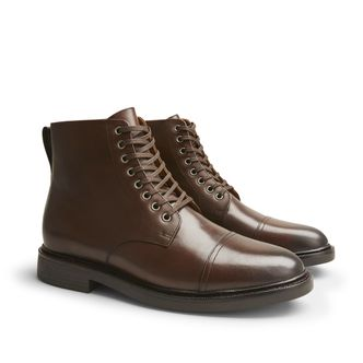 Polo Ralph Lauren Asher boots i skinn