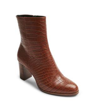 Rizzo Adria Zipp Boots i skinn