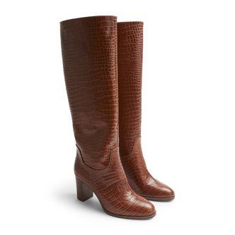 Rizzo Ariella High Boots i skinn