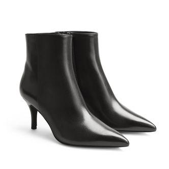 Rizzo Elina Zipp Boots i skinn