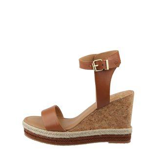 Gant San Diego wedge-sandaler i skinn