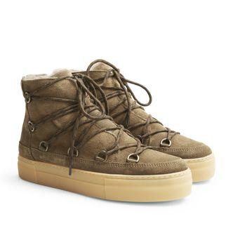 Rizzo Nella fodrade boots i mocka