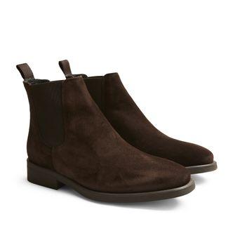 Rizzo Milena chelsea boots i mocka, dam