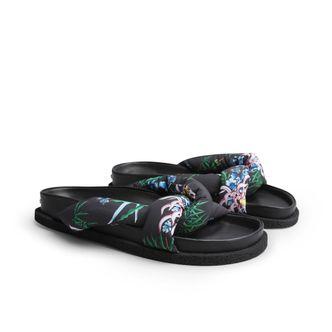 Kenzo Konfy Flat Mule sandaler i nylon, dam