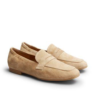 Billi Bi 4525 loafers i mocka