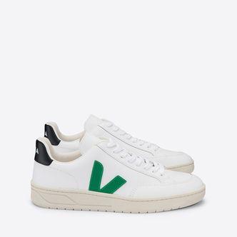 Veja V-12 sneakers i skinn, herr