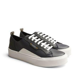 Hugo Boss Volcano sneakers i skinn, herr