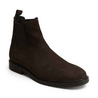 Rizzo Nando varmfodrade boots i mocka, herr