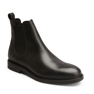 Rizzo Nando varmfodrade boots i skinn, herr
