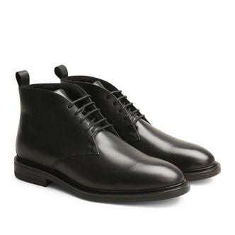Rizzo Nico varmfodrade boots i skinn
