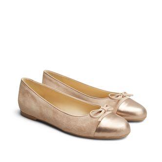 Rizzo Clorinda ballerinaskor i skinn, dam