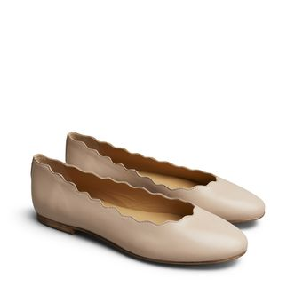 Rizzo Noema ballerinaskor i skinn, dam