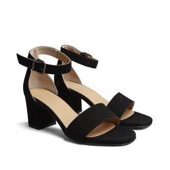 Rizzo Zelda sandaletter i mocka, dam