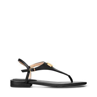 Lauren Ralph Lauren Ellington sandaler i skinn, dam