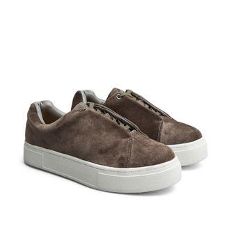 Eytys Doja Velvet sneakers i mocka, dam