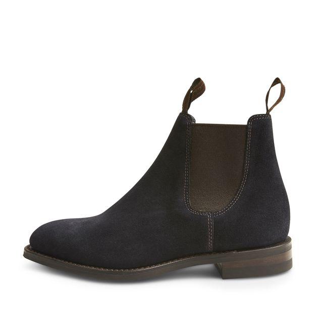 Loake Chatterley chelsea boots i mocka, dam