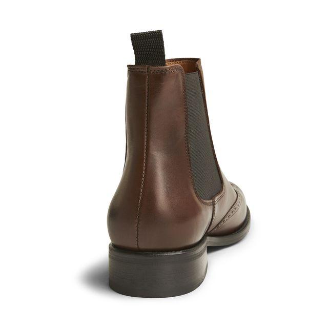 Rizzo Arianna chelsea boots i skinn, dam