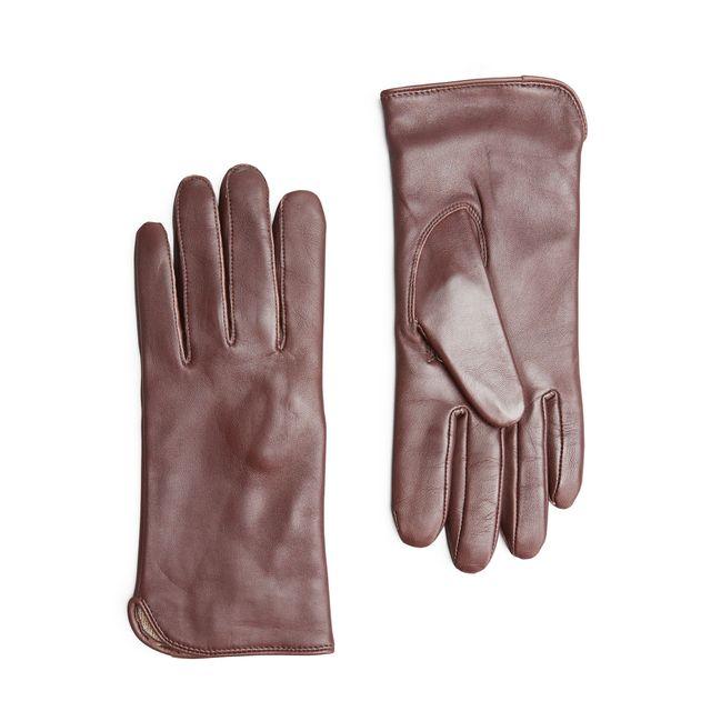 Handskmakaren Rho handskar i skinn, dam