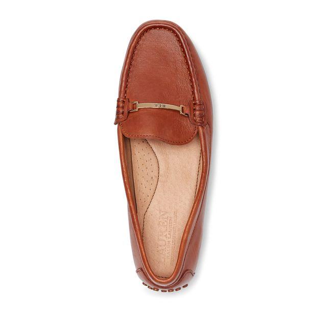 Lauren Ralph Lauren Briony loafers i skinn, dam