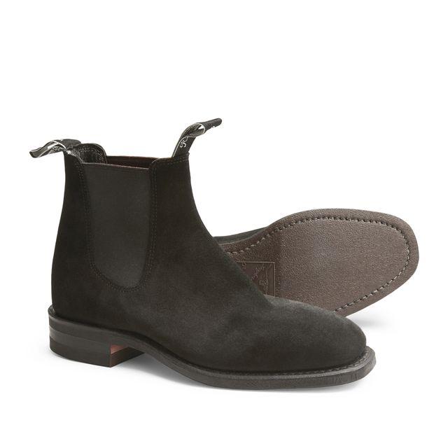 R.M.Williams Blaxland Suede chelsea boots, dam