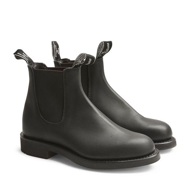 R.M.Williams Gardener Greasy Kip chelsea boots, dam
