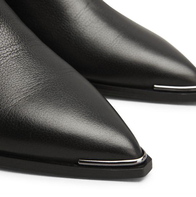 Acne Jensen Smallgrain boots i skinn, dam