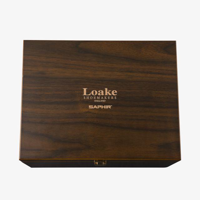 Loake Saphir Luxury Valet Box skoputslåda