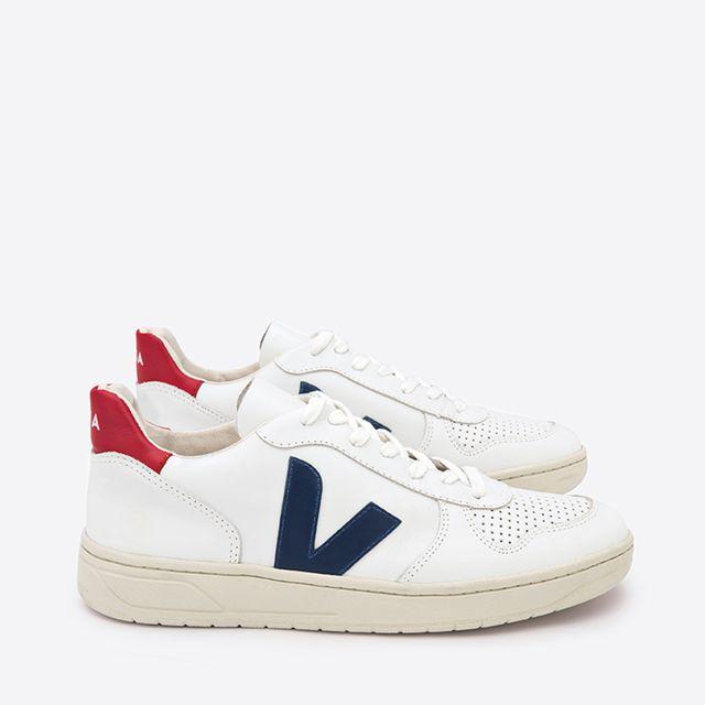 VEJA V-10 sneakers i skinn, herr