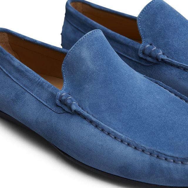 Rizzo Amaranto loafers i mocka, herr