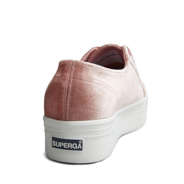 Superga 2790 sneakers i sammet, dam