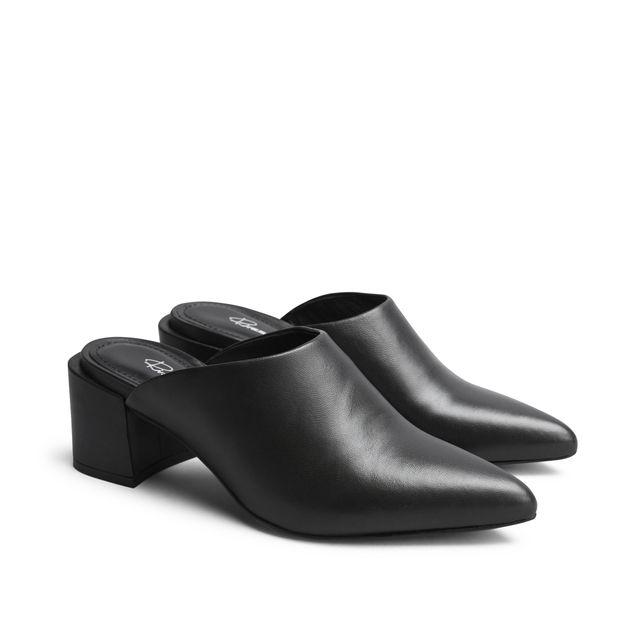 Rizzo Adela slip-in sandaler i skinn, dam