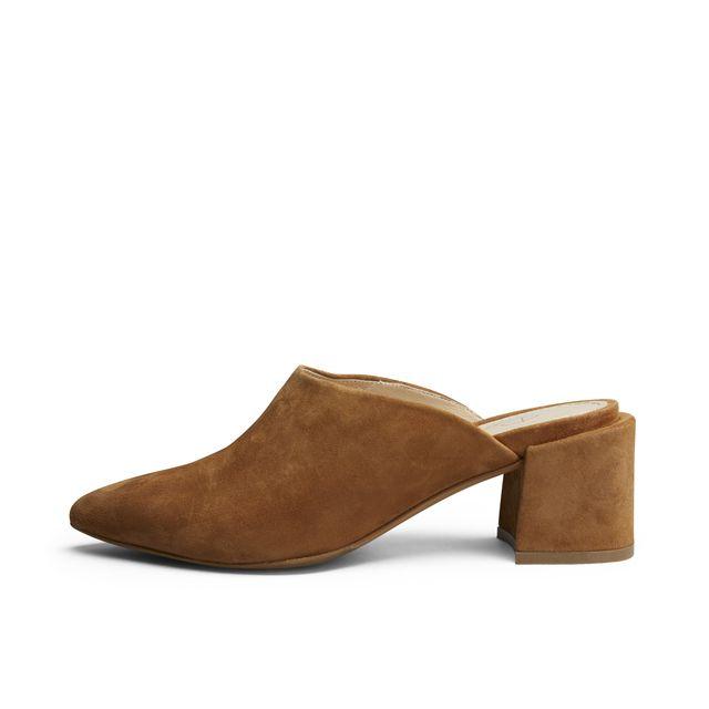 Rizzo Adela slip-in sandaler i mocka, dam