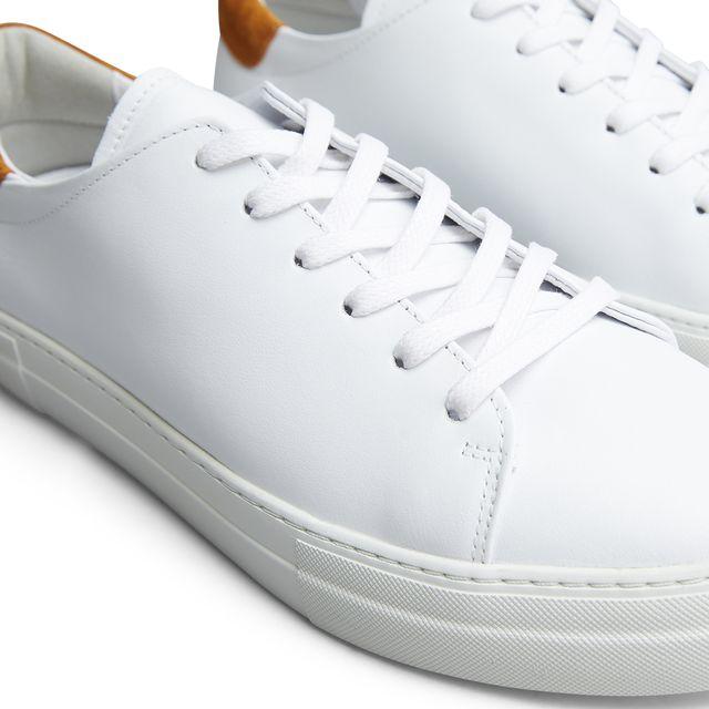 Rizzo Dan sneakers i skinn, herr
