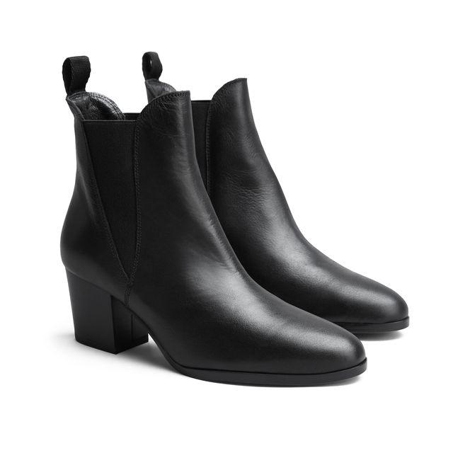 Rizzo Claudia Boots i skinn, dam