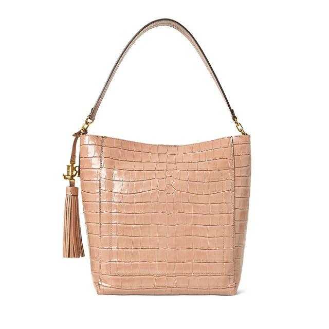 Lauren Ralph Lauren Adley handväska i skinn