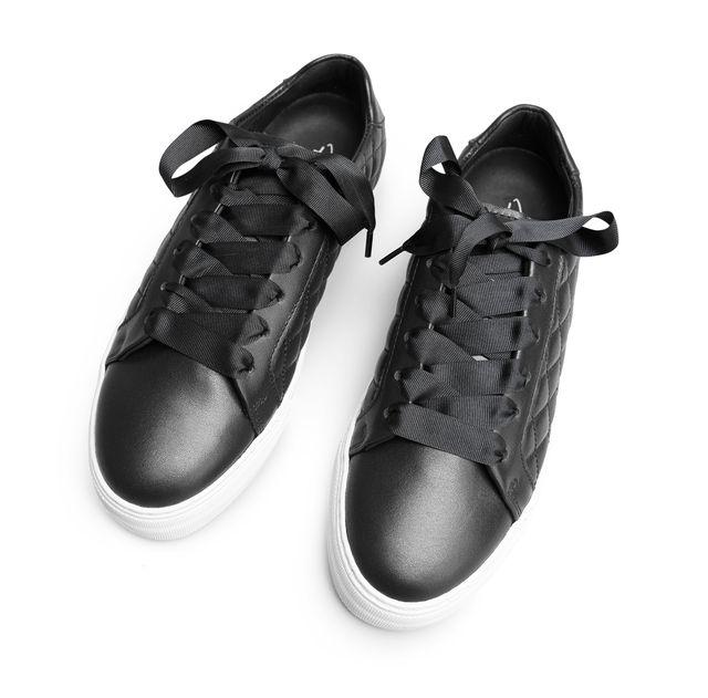 Rizzo Nini sneakers i skinn, dam