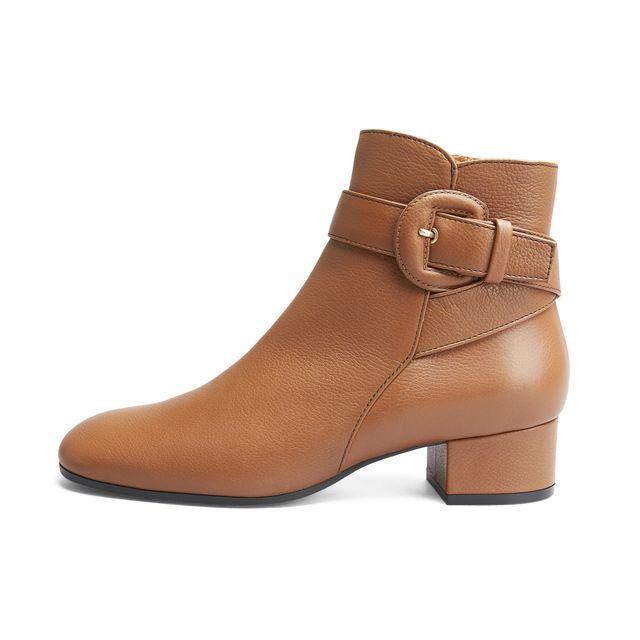 Rizzo Luisa boots i skinn, dam